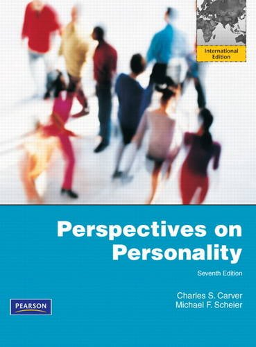 9780205219681: Perspectives on Personality: International Edition
