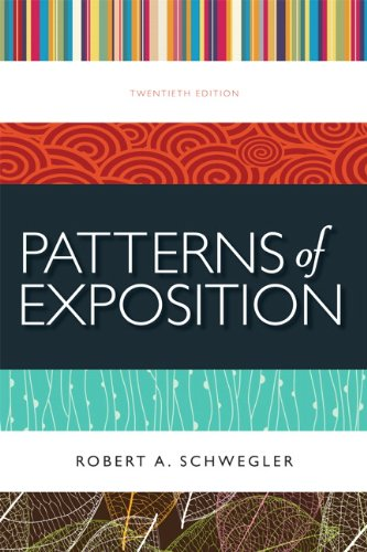 9780205220458: Patterns of Exposition (20th Edition)