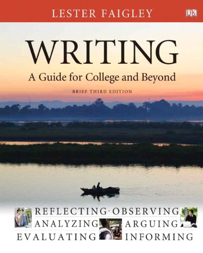 9780205223299: Writing: A Guide for College and Beyond, Brief Edition (3rd Edition)