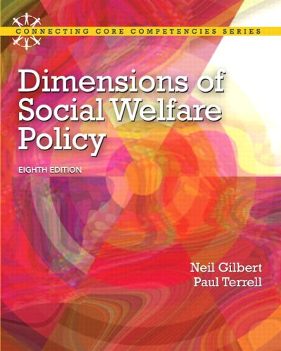 9780205223510: Dimensions of Social Welfare Policy Plus MySearchLab with eText -- Access Card Package (8th Edition) (Connecting Core Competencies)