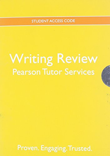 9780205229130: Pearson Tutor Services Writing Review -- Valuepack Access Card