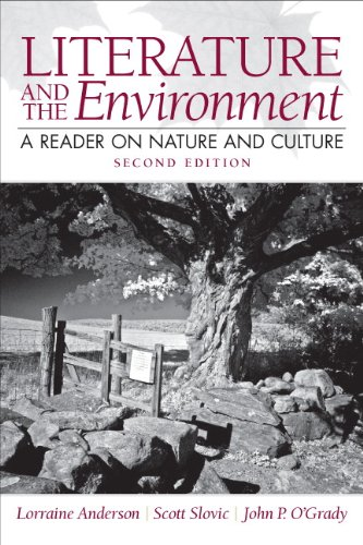9780205229352: Literature and the Environment: A Reader on Nature and Culture