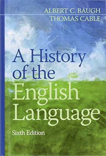9780205229390: A History of the English Language (6th Edition)