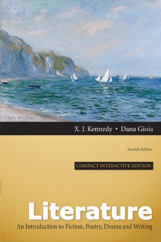 Literature : An Introduction to Fiction, Poetry,: Dana Gioia; X.