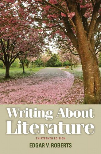9780205230310: Writing About Literature