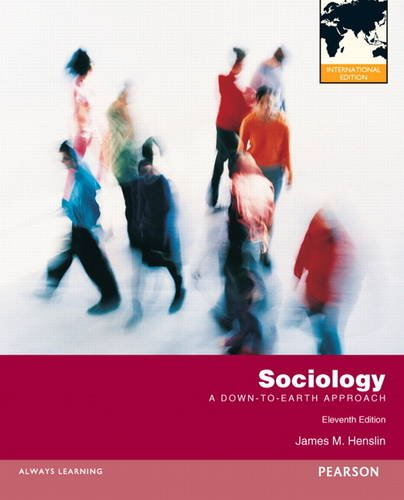 9780205230969: Sociology: A Down-To-Earth Approach