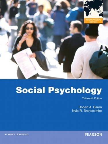 9780205231997: Social Psychology: International Edition