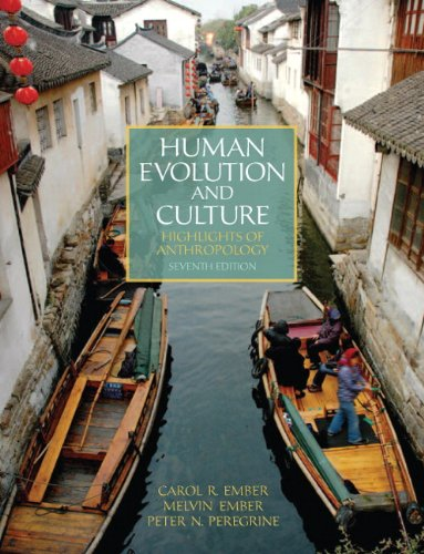 9780205232390: Human Evolution and Culture: Highlights of Anthropology (7th Edition)