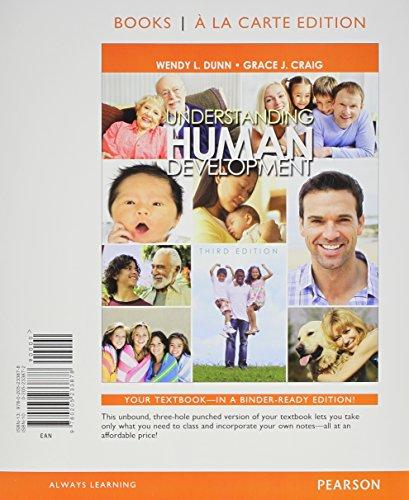 9780205233878: Understanding Human Development, Books a la Carte Edition (3rd Edition)