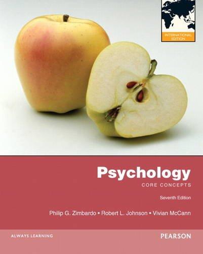9780205234950: Psychology: Core Concepts: International Edition