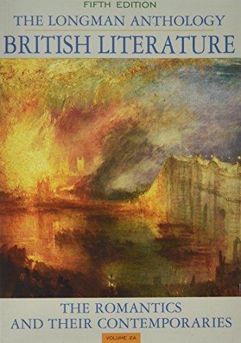 Longman Anthology of British Literature The Romantics: Dettmar, Kevin J.