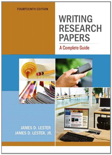 9780205236411: Writing Research Papers: A Complete Guide (spiral) (14th Edition)