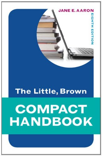 9780205236602: The Little, Brown Compact Handbook (8th Edition) (Aaron Little, Brown Franchise)