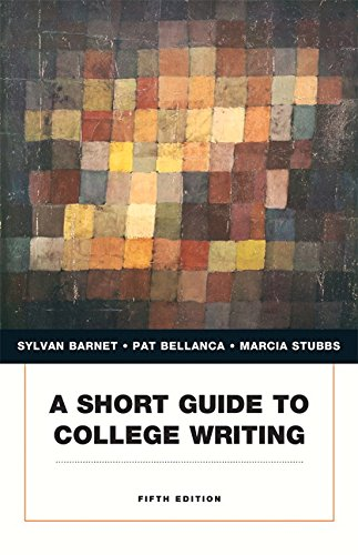 9780205238613: A Short Guide to College Writing (Penguin Academics)