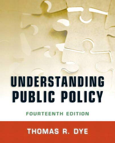 9780205238828: Understanding Public Policy (14th Edition)