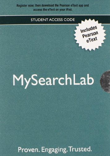 9780205239924: MySearchLab with Pearson eText - Valuepack Access Card