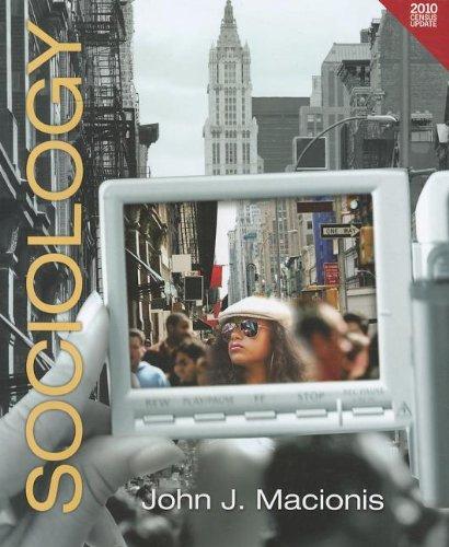 Sociology Census Update (paperback version) (13th Edition): Macionis, John J.