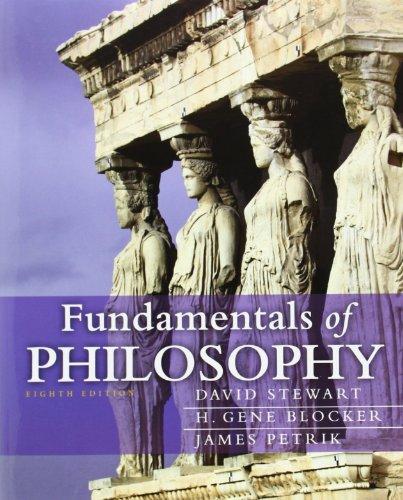 9780205242993: Fundamentals of Philosophy (8th Edition) (Mythinkinglab)