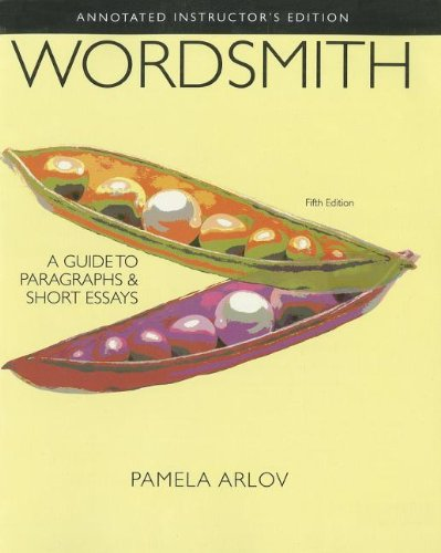 9780205244379: Wordsmith: A Guide to Paragraphs and Short Essays