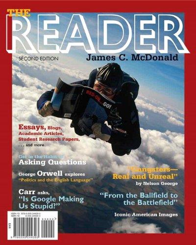 The Reader (2nd Edition): McDonald, James C.