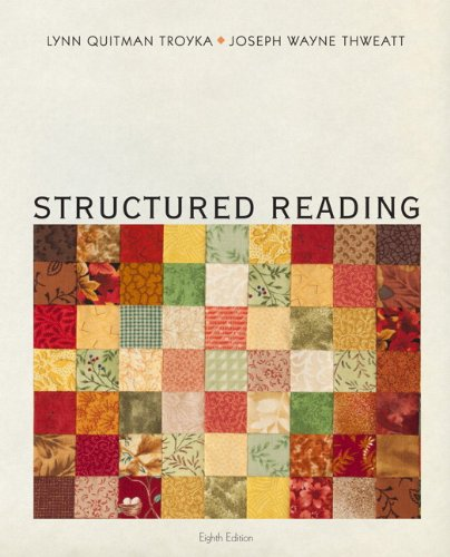 9780205244652: Structured Reading (8th Edition)
