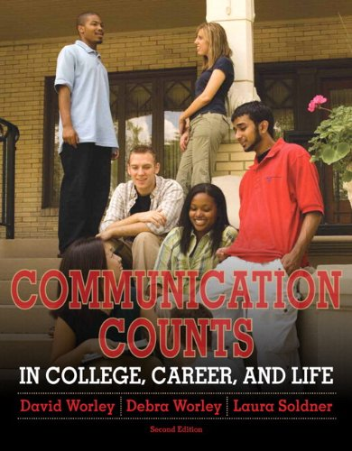 9780205245161: Communication Counts in College, Career, and Life Plus MySearchLab with eText -- Access Card Package (2nd Edition)