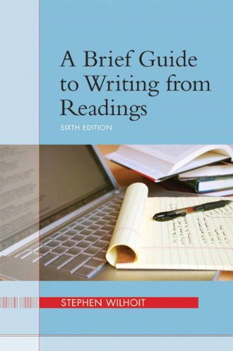 9780205245741: A Brief Guide to Writing from Readings (6th Edition)