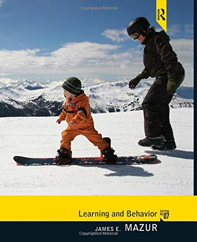 Learning and Behavior: Mazur, James E.