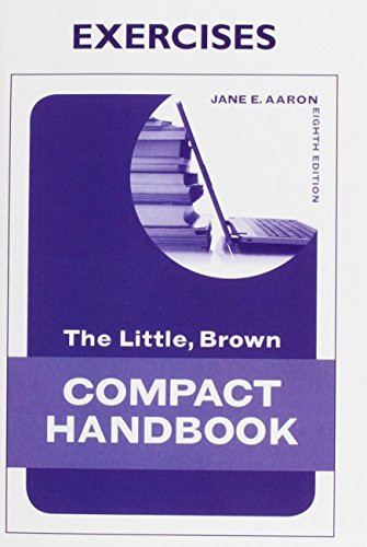 9780205247905: Exercise Book for The Little, Brown Compact Handbook