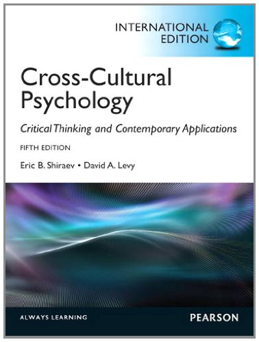 9780205249350: Cross-Cultural Psychology: Critical Thinking and Contemporary Applications: International Edition
