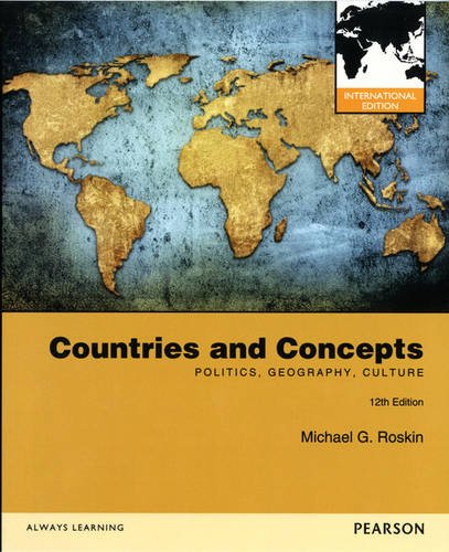9780205249626: Countries and Concepts: Politics, Geography, Culture