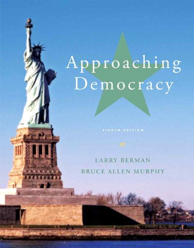 9780205251605: Approaching Democracy (8th Edition)