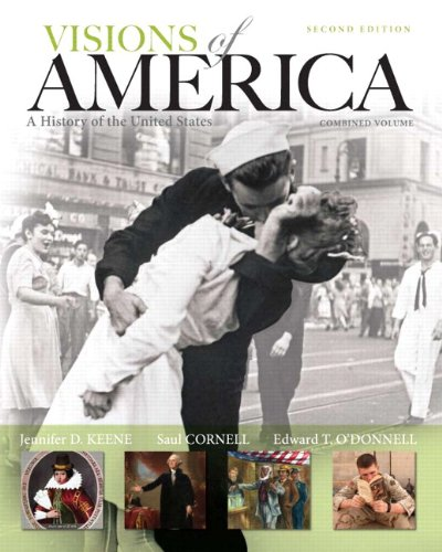 9780205251612: Visions of America: A History of the United States, Combined Volume Plus NEW MyHistoryLab with eText -- Access Card Package (2nd Edition)