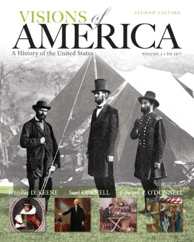 9780205251629: Visions of America: A History of the United States, Volume One Plus NEW MyHistoryLab with eText -- Access Card Package (2nd Edition)