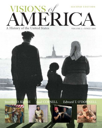 9780205251636: Visions of America: A History of the United States, Volume Two Plus NEW MyHistoryLab with eText -- Access Card Package (2nd Edition)