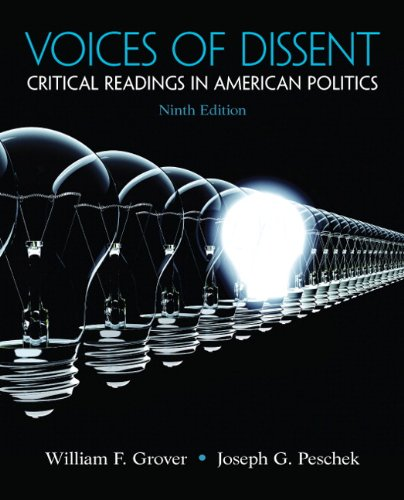 9780205251711: Voices of Dissent: Critical Readings in American Politics (9th Edition)