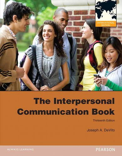 9780205251988: The Interpersonal Communication Book: International Edition