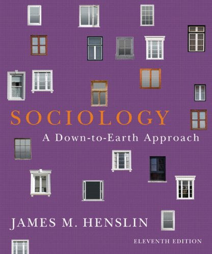 9780205252282: Sociology: A Down-to-Earth Approach Plus NEW MySocLab with eText -- Access Card Package (11th Edition)