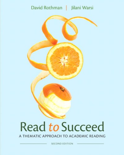9780205252350: Read to Succeed: A Thematic Approach to Academic Reading (2nd Edition)