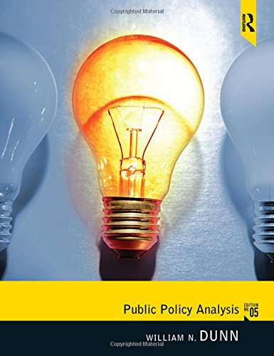 9780205252572: Public Policy Analysis