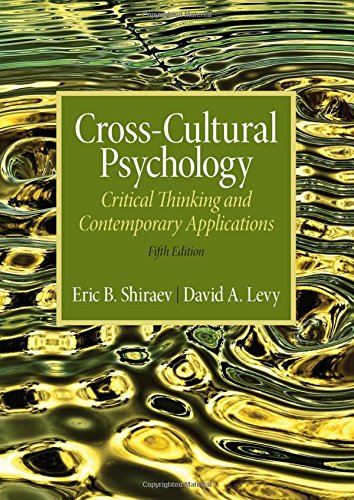 9780205253234: Cross-Cultural Psychology: Critical Thinking and Contemporary Applications, Fifth Edition