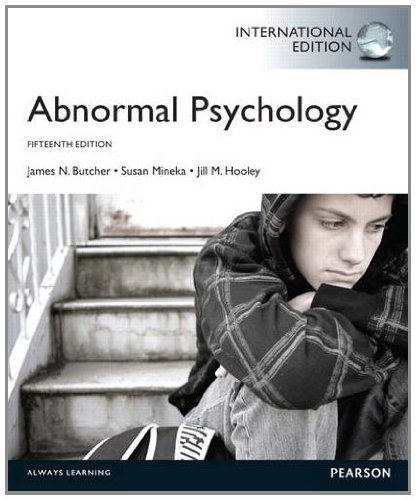9780205254453: Abnormal Psychology
