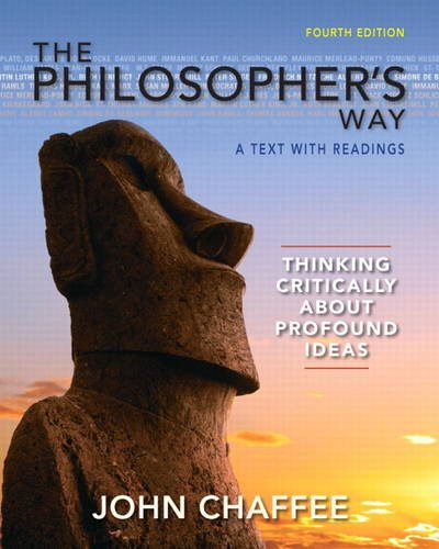 9780205254699: The Philosopher's Way: A Text with Readings, Thinking Critically About Profound Ideas