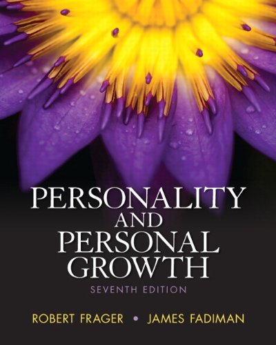 9780205254781: Personality and Personal Growth (7th Edition)