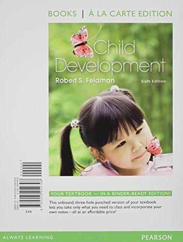 9780205254798: Child Development: Books a La Carte Edition