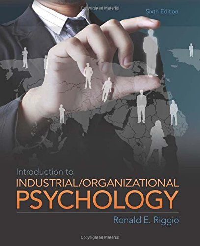9780205254996: Introduction to Industrial and Organizational Psychology, 6th Edition