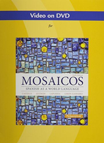 9780205255450: Video DVD for Mosaicos: Spanish as a World Language