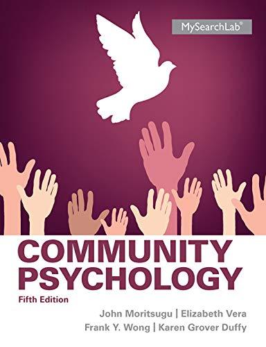 9780205255627: Community Psychology