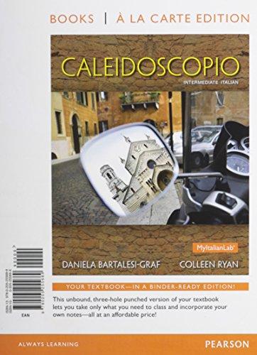9780205255689: Caleidoscopio, Books a la Carte Edition