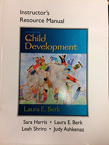 9780205256877: Instructor's Resource Manual for Child Development 9th Edition